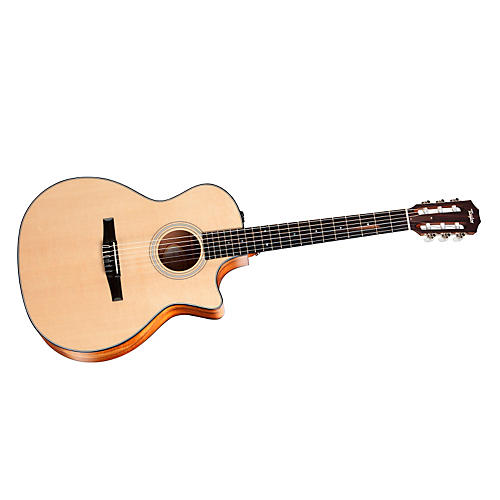 Taylor 2012 312ce-N-LTD Spring Limited Edition Koa Grand Concert Acoustic-Electric Nylon Guitar