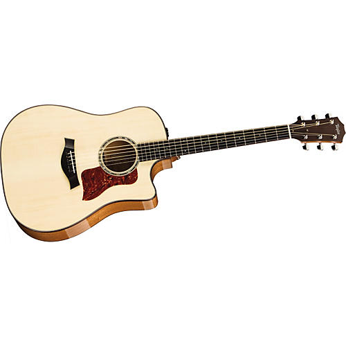 Taylor 2012 510ce-L Mahogany/Spruce Dreadnought Left-Handed Acoustic-Electric Guitar-thumbnail