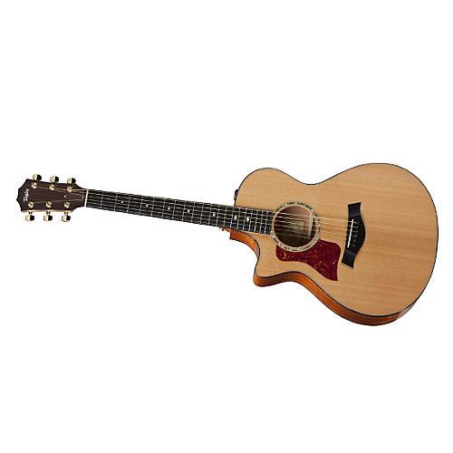 Taylor 2012 512ce-L Mahogany/Cedar Grand Concert Left-Handed Acoustic-Electric Guitar-thumbnail