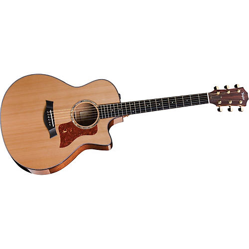 Taylor 2012 516ce-L Mahogany/Spruce Grand Symphony Left-Handed Acoustic-Electric Guitar-thumbnail