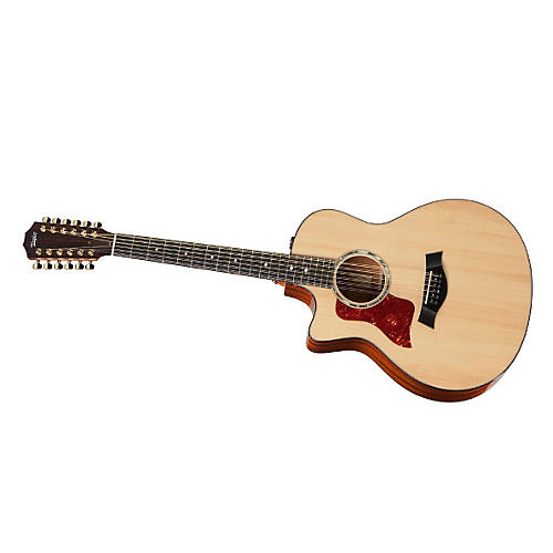 Taylor 2012 556ce-L Mahogany/Spruce Grand Symphony 12-String Left-Handed Acoustic-Electric Guitar