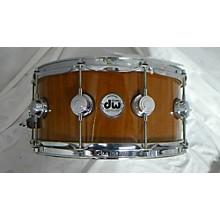 DW 2012 6.5X14 COLLECTORS CUSTOM LAQUER MAPLE MAHOGANY Drum