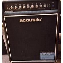 Acoustic 2012 B100MKII 100W 1x15 Bass Combo Amp