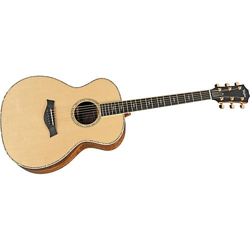 Taylor 2012 DN6-L Maple/Spruce Dreadnought Left-Handed Acoustic Guitar-thumbnail