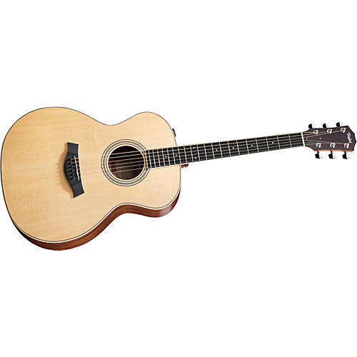 Taylor 2012 DN6e-L Maple/Spruce Dreadnought Left-Handed Acoustic-Electric Guitar-thumbnail