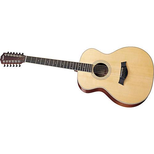 Taylor 2012 GA3-12-L Sapele/Spruce Grand Auditorium 12-String Left-Handed Acoustic Guitar Natural