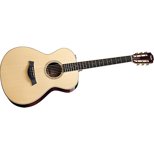 Taylor 2012 GA4e-12-L Ovangkol/Spruce Grand Auditorium 12-String Left-Handed Acoustic-Electric Guitar-thumbnail
