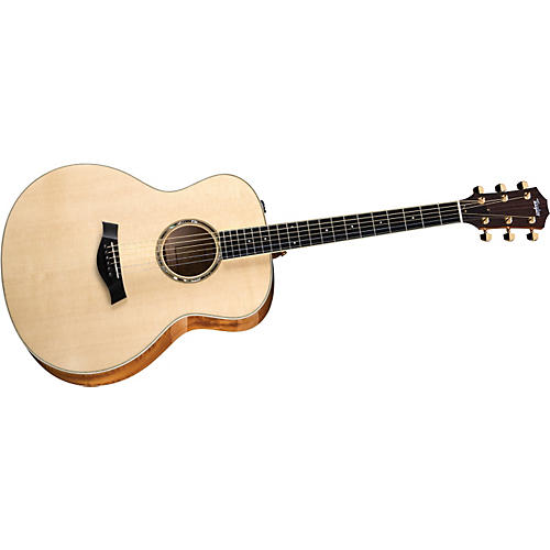 Taylor 2012 GA7-L Rosewood/Cedar Grand Auditorium Left-Handed Acoustic Guitar-thumbnail