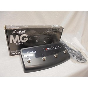 Pre-owned Marshall 2012 MG 4 Button Programmable Footcontroller Pedal Board