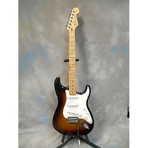 Fender 2012 Standard Stratocaster Brown Sunburst Solid Body Electric Guitar
