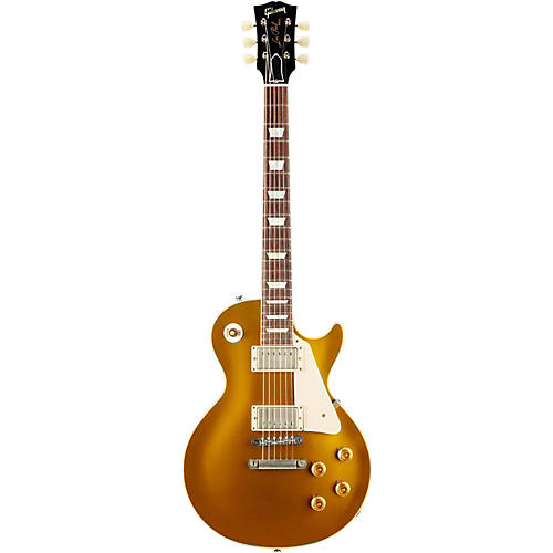 Gibson Custom 2013 1957 Les Paul Standard Historic Reissue Goldtop VOS Antique Gold