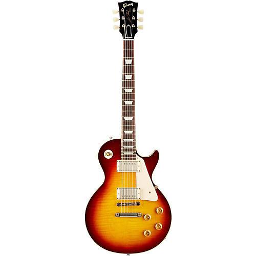 Gibson Custom 2013 1958 Les Paul Standard Historic Reissue VOS Plaintop Bourbon Burst