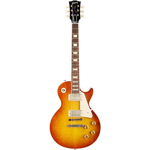 Gibson Custom 2013 1958 Les Paul Standard Historic Reissue VOS Plaintop Sunrise Tea Burst