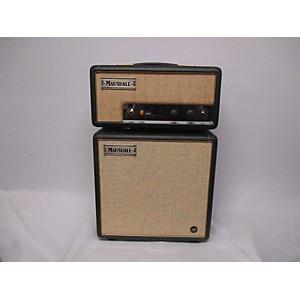 Pre-owned Marshall 2013 Csjtmosh One Watt JTM Offset Head and Cabinet Guitar Sta...