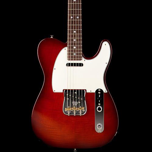 Fender Custom Shop 2013 Custom Deluxe Telecaster Electric Guitar Violin Burst Rosewood Fretboard