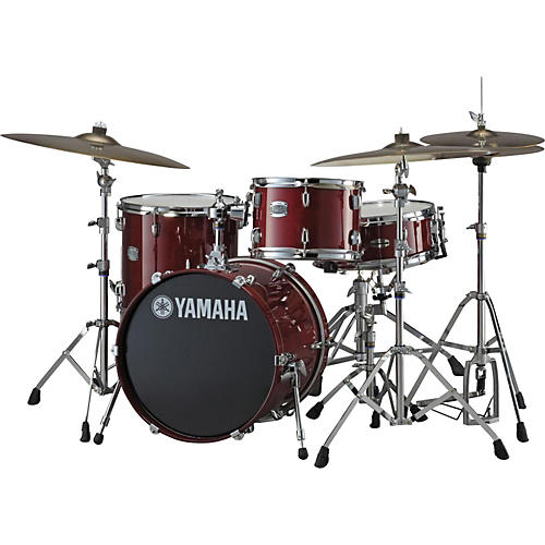 Yamaha 2013 Stage Custom 3-Piece Birch BeBop Shell Pack Cranberry Red