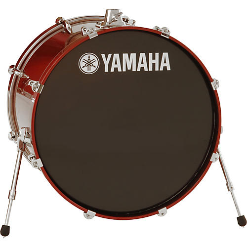 Yamaha 2013 Stage Custom Birch Bass Drum 24 x 17 in. Cranberry Red