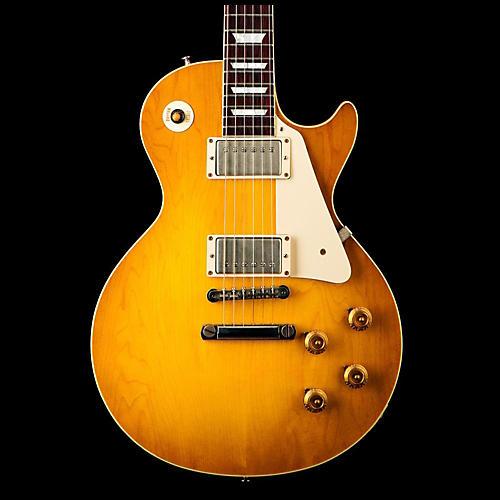Gibson Custom 2014 1958 Les Paul Plaintop VOS Electric Guitar-thumbnail