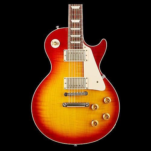 Gibson Custom 2014 1958 Les Paul Plaintop VOS Electric Guitar-thumbnail