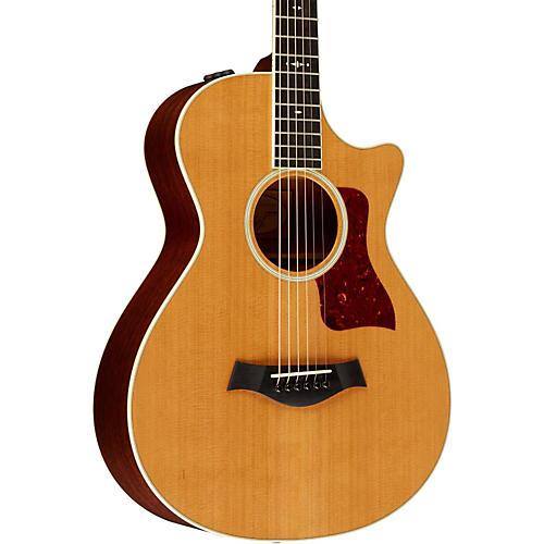 Taylor 2014 500 Series 512ce Grand Concert 12-Fret Acoustic-Electric Guitar-thumbnail
