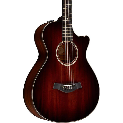 Taylor 2014 500 Series 522ce 12-Fret Grand Concert Acoustic-Electric Guitar Shaded Edge Burst