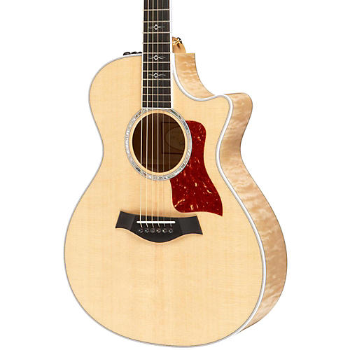 Taylor 2014 612ce Maple/Spruce Grand Concert Acoustic-Electric Guitar Natural