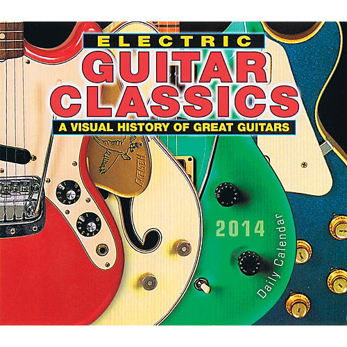 Hal Leonard 2014 Electric Guitar Classics Daily Boxed Calendar