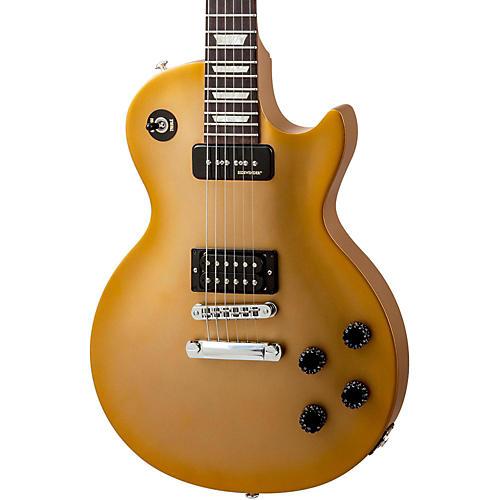 Gibson 2014 Les Paul Futura Plain Top Electric Guitar Vintage Gloss Bullion Gold