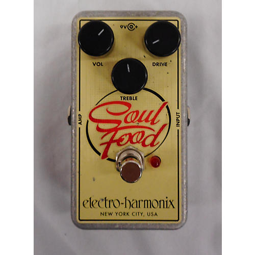 Electro-Harmonix 2014 Soul Food Overdrive Effect Pedal-thumbnail