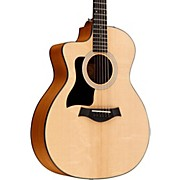 Taylor 2015 114ce-LH Left-Handed Dreadnought Acoustic-Electric Guitar