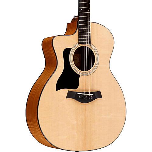 Taylor 2015 114ce-LH Left-Handed Dreadnought Acoustic-Electric Guitar-thumbnail