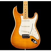Fender Custom Shop 2015 American Custom Stratocaster Flame Maple Top Electric Guitar with Maple Fretboard