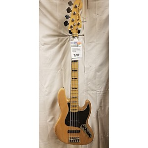Pre-owned Fender 2015 American Elite Jazz Bass 5 String Electric Bass Guitar by Fender
