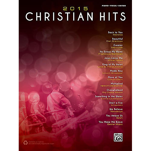 Alfred 2015 Christian Hits - Piano/Vocal/Guitar Songbook