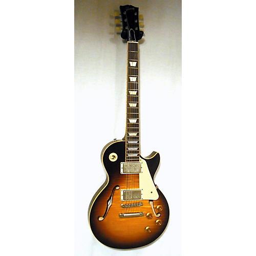 used gibson 2015 es les paul hollow body electric guitar vintage sunburst guitar center. Black Bedroom Furniture Sets. Home Design Ideas