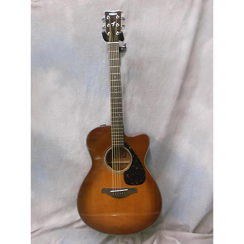 Yamaha 2015 FSX700SC Acoustic Electric Guitar-thumbnail