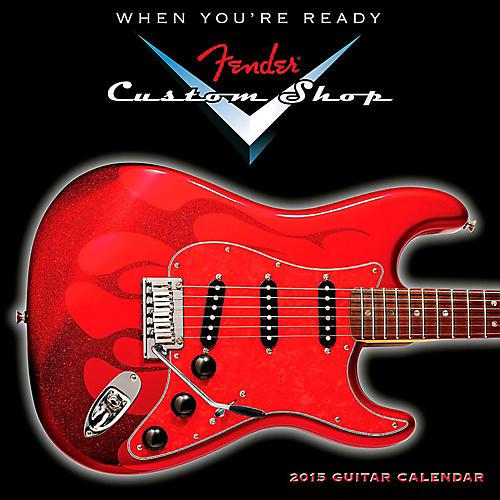 Hal Leonard 2015 Fender Custom Shop Mini Wall Calendar