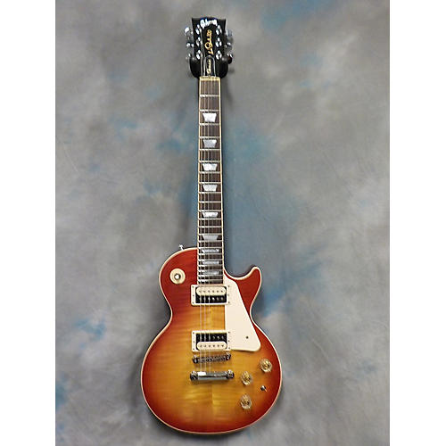 Gibson 2015 Les Paul Classic Flame Top Solid Body Electric Guitar