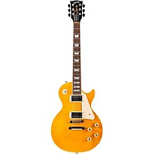 2015 Les Paul Standard Commemorative Electric Guitar Transparent Amber/Cherry Back Candy