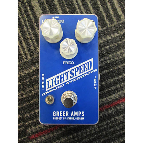 Greer Amplification 2015 Lightspeed Organic Overdrive