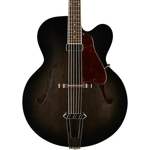 Gibson Custom 2015 Solid-Formed 17 Venetian Cutaway Archtop Hollowbody Electric Guitar Regular Trans Black Burst Transparent Black Burst
