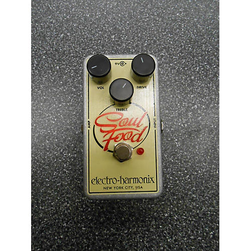Electro-Harmonix 2015 Soul Food Overdrive Effect Pedal-thumbnail