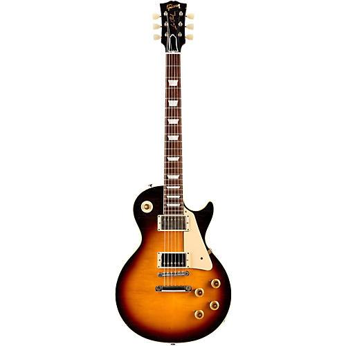 Gibson Custom 2015 True Historic 1958 Les Paul Reissue Aged Electric Guitar Vintage Dark Burst