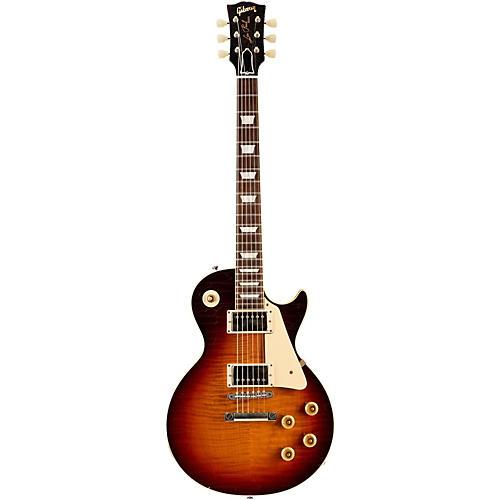 Gibson Custom 2015 True Historic 1959 Les Paul Reissue Aged Electric Guitar Vintage Dark Burst