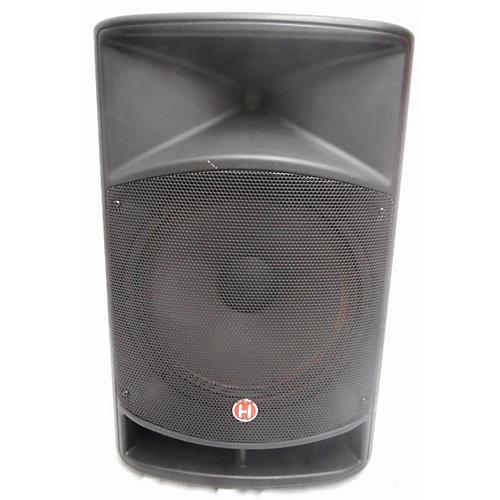 used harbinger 2015 v2115 powered speaker guitar center. Black Bedroom Furniture Sets. Home Design Ideas