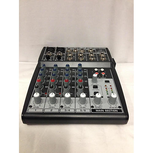 Used Behringer 2015 Xenyx 802 Unpowered Mixer