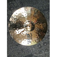 Paiste 2016 18in Pst8 Rock Crash Cymbal