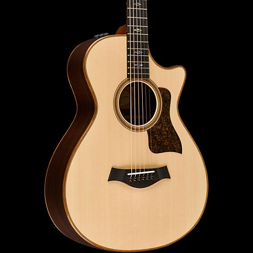 Taylor 2016 700 Series 712ce Grand Concert Acoustic-Electric Guitar Natural