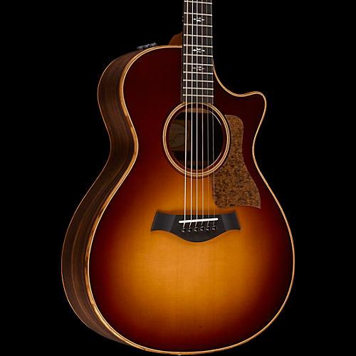 Taylor 2016 700 Series 712ce Grand Concert Acoustic-Electric Guitar Western Sunburst