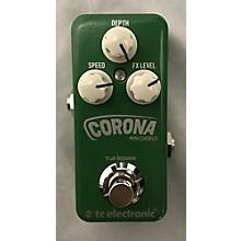 TC Electronic 2016 Corona Mini Chorus Effect Pedal